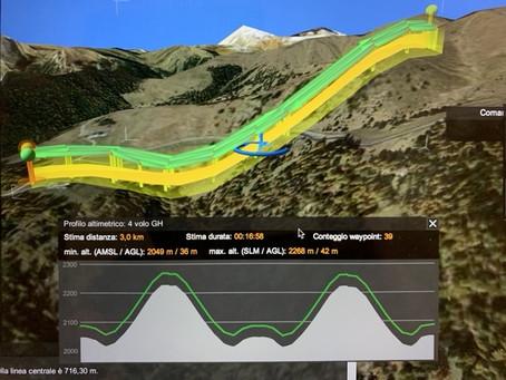 Come poter pianificare il rilievo di una nuova pista da sci