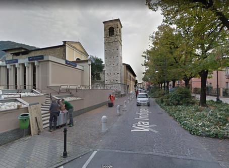Come poter fare un rilievo di una facciata in ambiente urbano