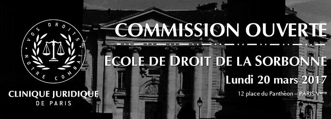 Sorbonne Calendrier.Calendrier Clinique Juridique De La Sorbonne
