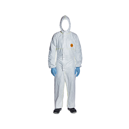 DuPont Tyvek 200 Easysafe Hooded coverall with elastics PPE