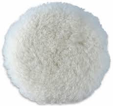 Lake Country 3 x 3/4 Inch Electrified White Sheepskin Light Cutting Pad (Pkt 12)
