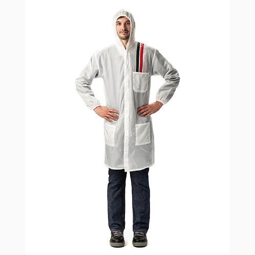 Pelatec Polytec Reusable Standard White Coat (Each)