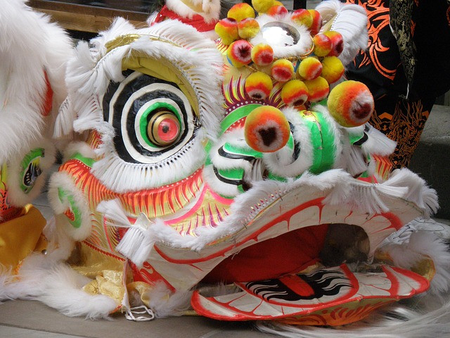 Chinese Dragon - New Year Celebration - Pixabay