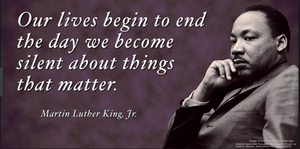 Dr. King's Quote