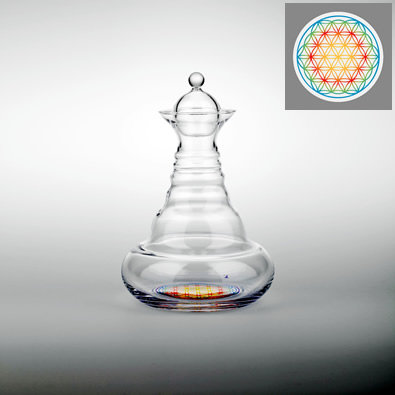 Aladdin Carafe | Rainbow Flower of Life