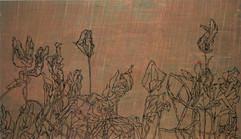 שרון פוליאקין, ללא כותרת 2008, שמן על בד 140-240  .JPG