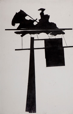 24351, Untitled, 2013, ink and graphite  on paper, 190x124 cm.jpg
