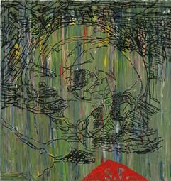 שרון פוליאקין, ללא כותרת, 2007, שמן על בד, 105X100 סמ.JPG