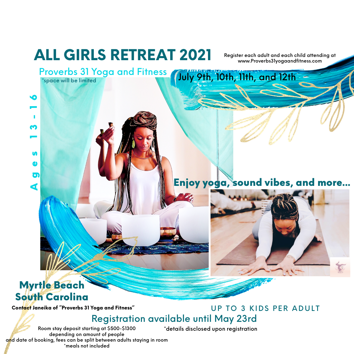 Peace Retreat (ALL GIRLS) July 9th-12th