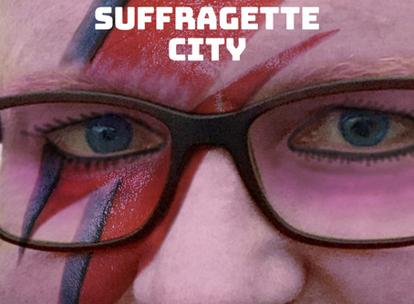 """Panties Record and Release Bowie's """"Suffragette City"""""""