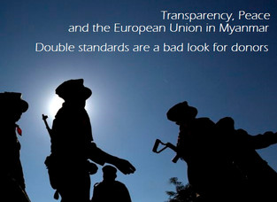 Transparency, Peace and the European Union in Myanmar