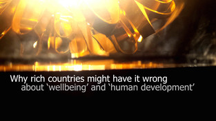 Why rich countries might have it wrong about wellbeing and human development