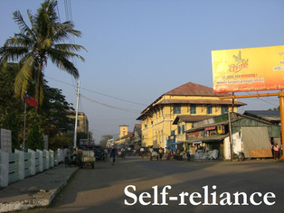 Struggles for local organizations' self-reliance