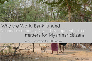 Why the National Community Driven Development Project (NCDDP) matters for Myanmar citizens