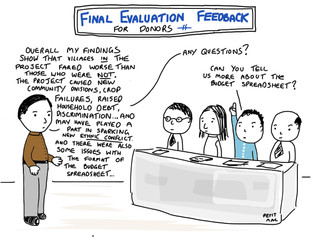 The final evaluation feedback...