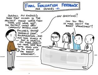 The final evaluation feedback...