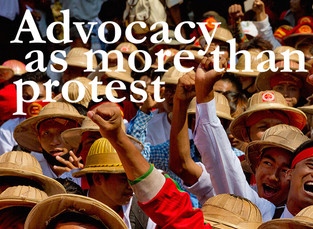 Advocacy as more than just protest