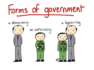 Forms of government...