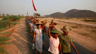 Letpadaung mine, social movements and the role of the NLD