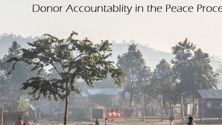 How, and to whom, are donors accountable in peace work?