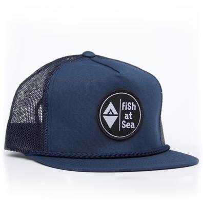 Trucker | Blue | Logo