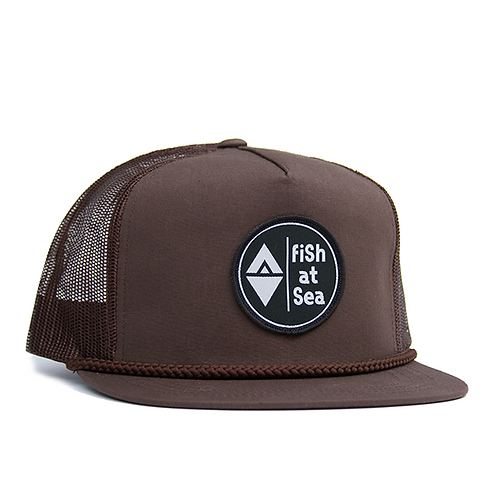 Trucker | Brown | Logo