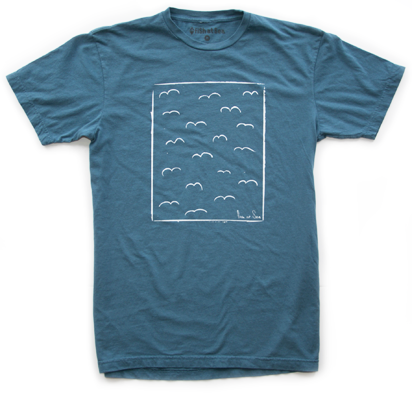 Sea Gulls | Blue