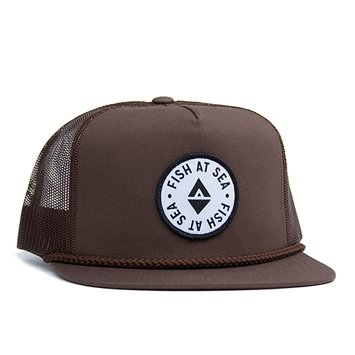 Trucker | Brown | Retro