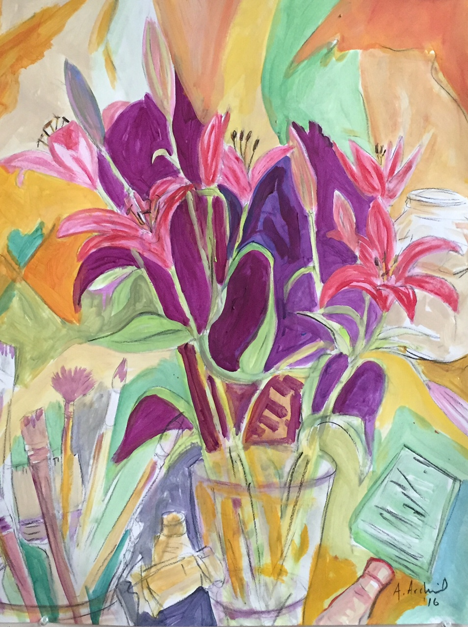 lilies 2016