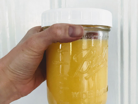 GHEE - why to use it & how to make it.