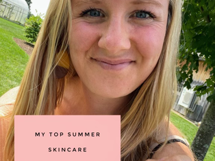 MY TOP SUMMER SKINCARE ESSENTIALS Part Two - Masks, Treatment Steps + Sunscreen
