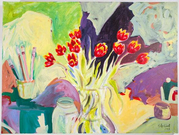 studio tulips, 2013