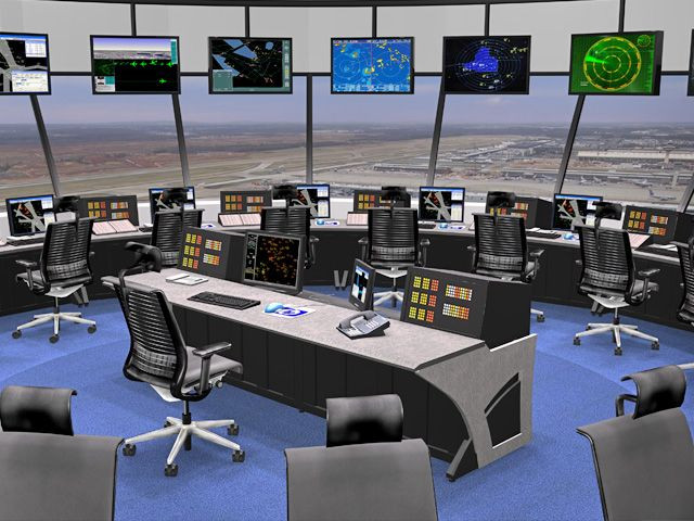 Mining dispatchers need a well-organised control room.