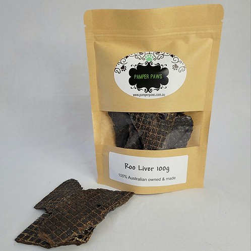 Pamper Paws Roo Liver 100g