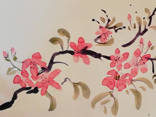 Zoom Art Classes. new Course being Launched on 21st January Chinese Style Brush Strokes.