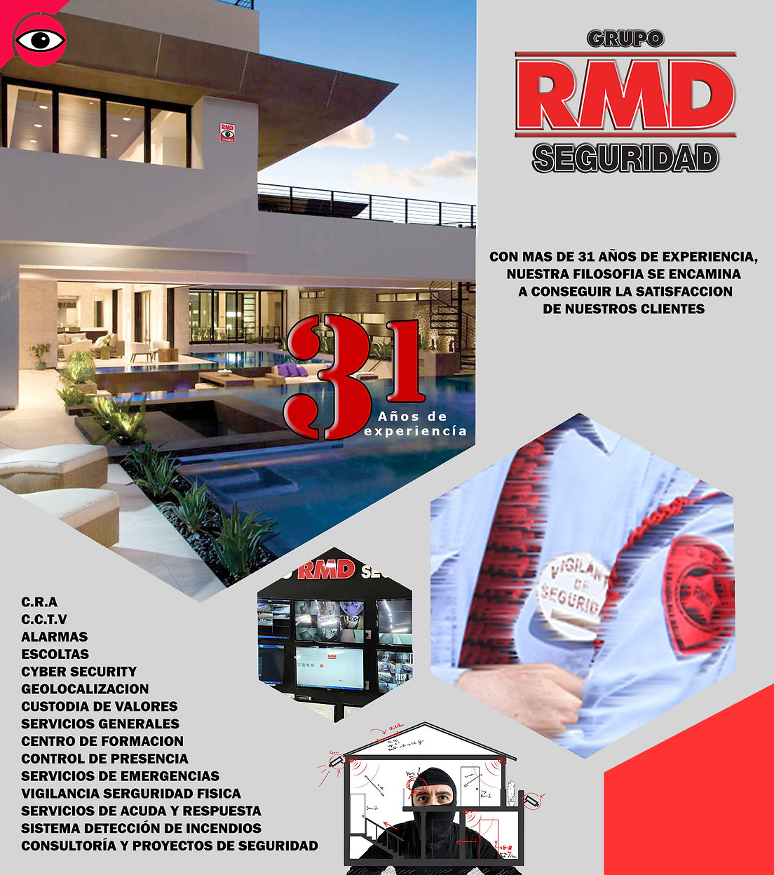 Grupo RMD Seguridad, vigilante, CRA, Cursos seguridad privada