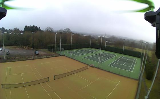 Elstree beach tennis club :-)