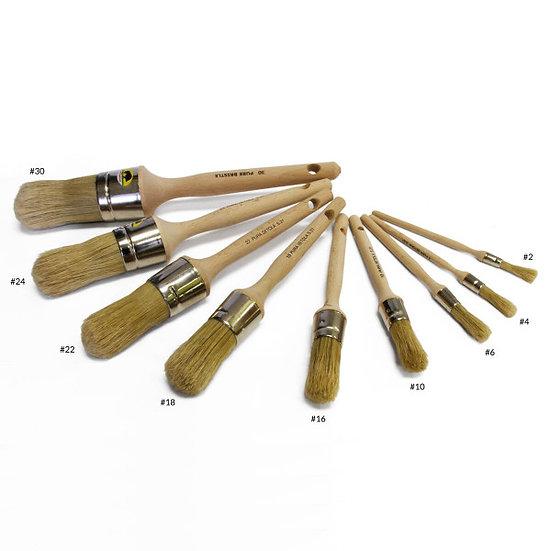豬鬃刷(圓頭) Glue Brushes - Round