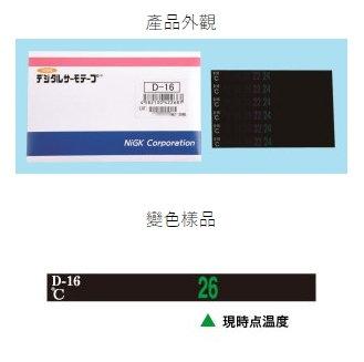 D-06 可逆溫度貼紙