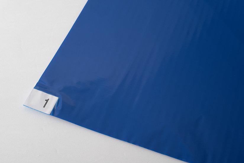 (藍色)腳踏黏墊