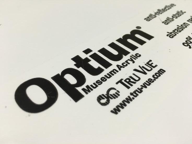 低反光壓克力板壓克力 Optium Museum Acrylic