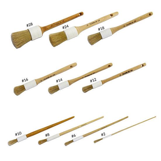 陶瓷塗膠刷 Conservation Paste Brushes