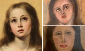 聖母像慘遭毀容! 外行人修復名畫鬧笑話惹議
