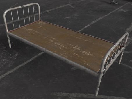 Кроватка для психов