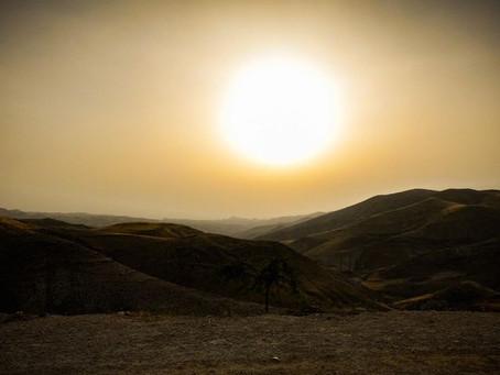 אפריל 2021-  חם מהרגיל ויבש