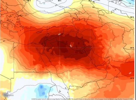 גל החום שובר שיאים במזרח התיכון