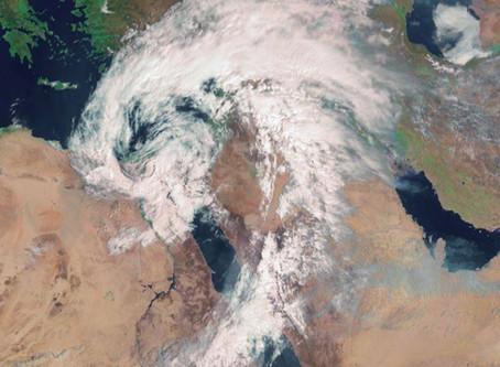 סיכום הסערה במזרח התיכון, כ-21 הרוגים במצרים