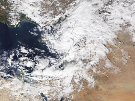 מדיקיין אליינה מכה ברחבי הארץ: שיאי גשם ליממה נשברו בצפון
