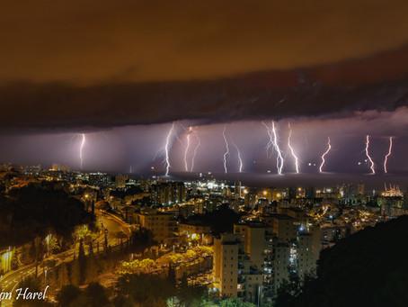 בפעם השנייה פחות משבוע:   הצפות ושיטפונות נרחבים ברחבי הארץ