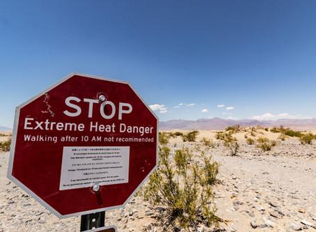 שיא חום חדש ליבשת אמריקה?... 54 מעלות בעמק המוות